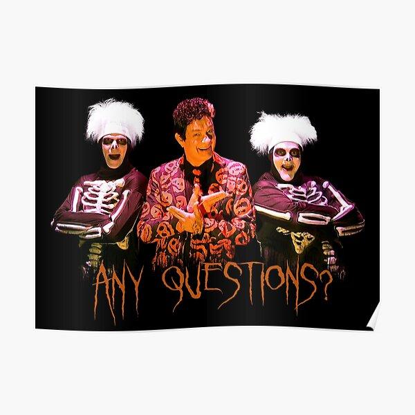 David S. Pumpkins - Any Questions? V Poster