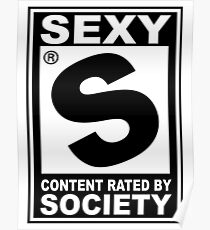 Sexy Rated Poster