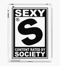 Sexy Rated iPad Case/Skin