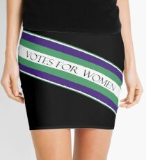 Suffragette Mini Skirt