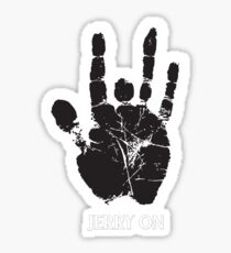 Jerry On (Jerry Hand) Sticker