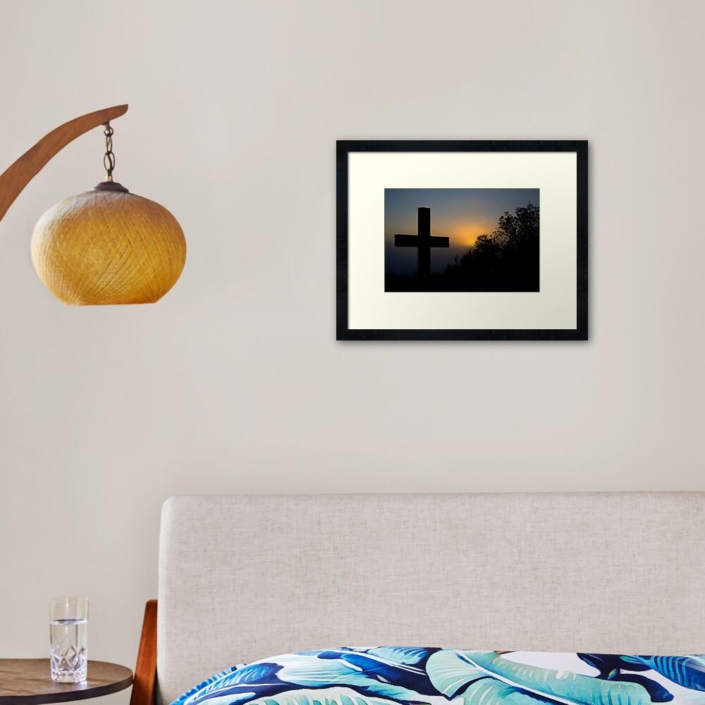 Bexhill Sunrise Framed Art Print