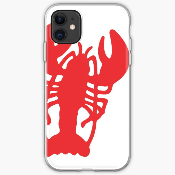 Red Lobster iPhone Soft Case