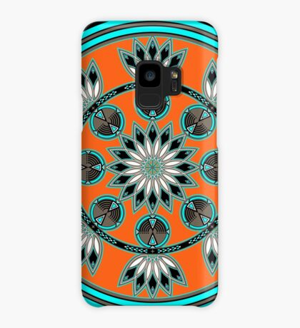 Thunder Beings Orange Case/Skin for Samsung Galaxy