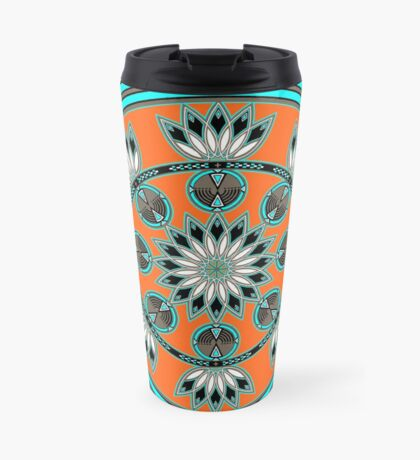 Thunder Beings Orange Travel Mug