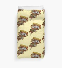 Pizza is Life Duvet Cover