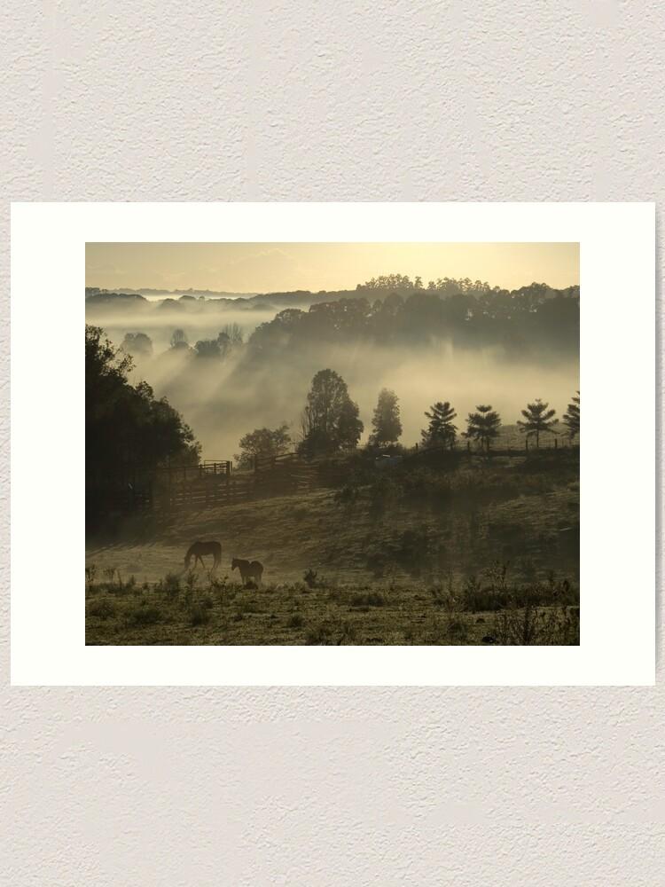 Alternate view of Winter Morning Art Print
