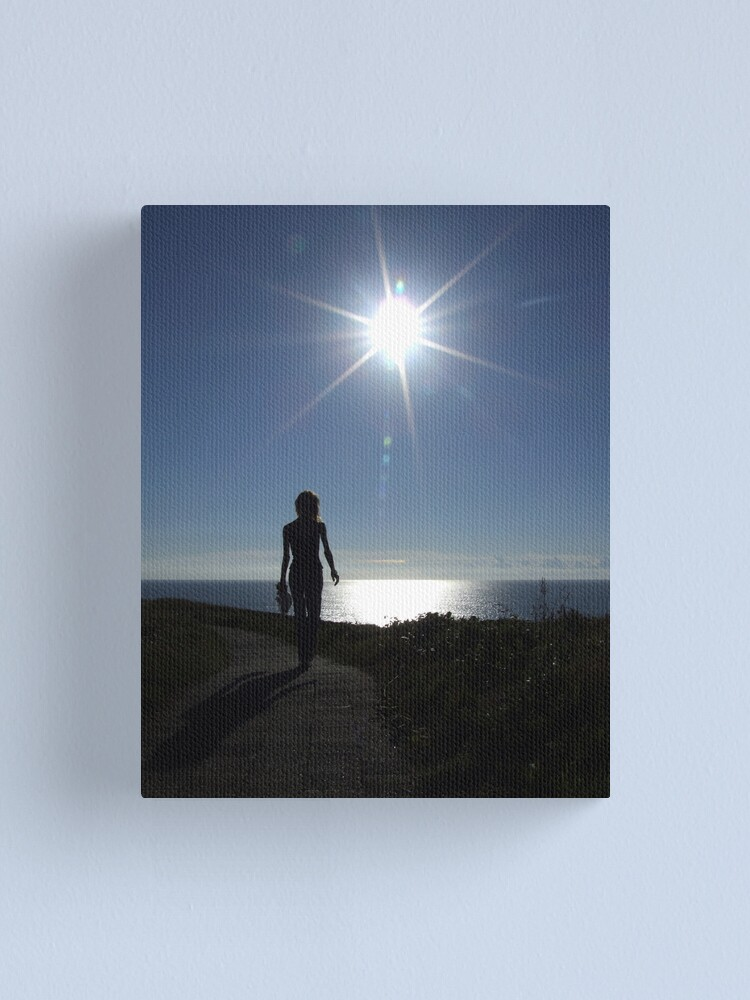 Alternate view of Early Morning Walk Canvas Print
