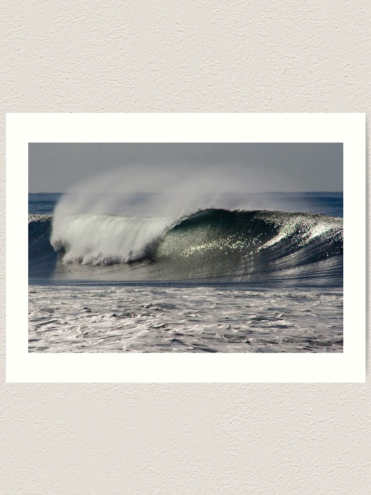 Alternate view of Storm Swell Art Print