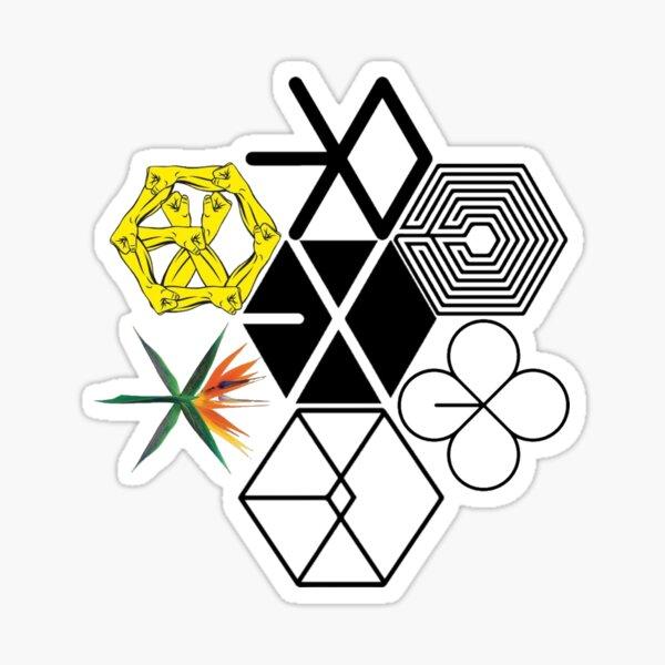 EXO Logos Sticker