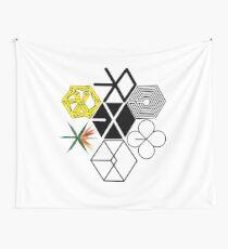 EXO-Logos Wandbehang