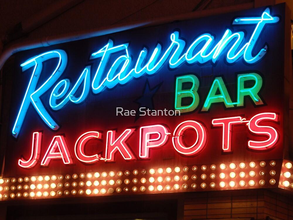 restaurant bar jackpots by Rae Stanton