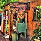 Old Town Store Front In Albuquerque New Mexico by K D Graves Photography
