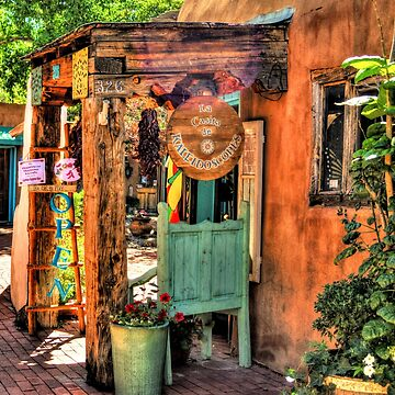 Old Town Store Front In Albuquerque New Mexico by DianaG