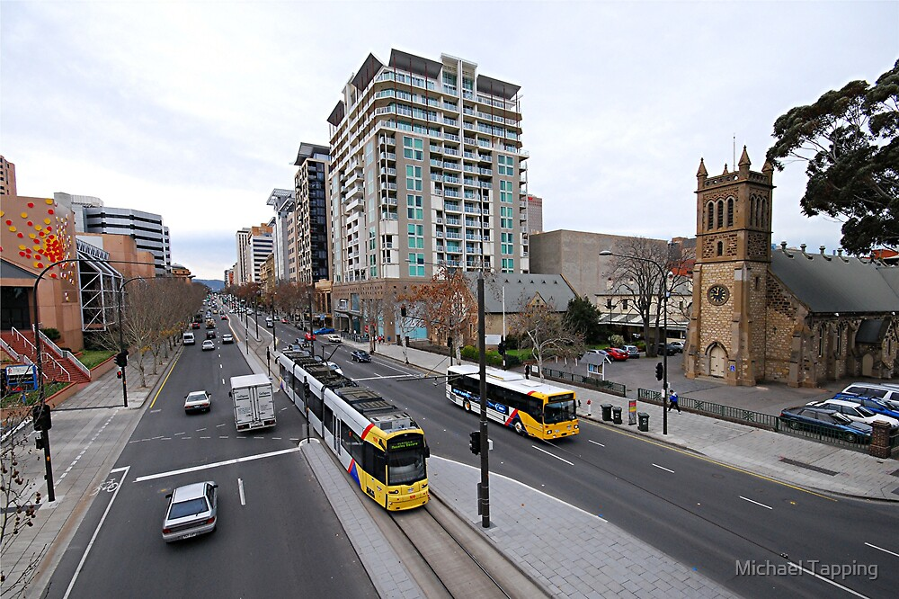 Adelaide Tram by Michael Tapping