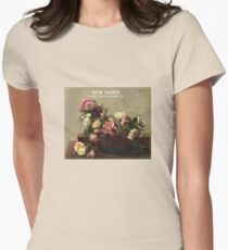 New Order power corruption and lies design Women's Fitted T-Shirt