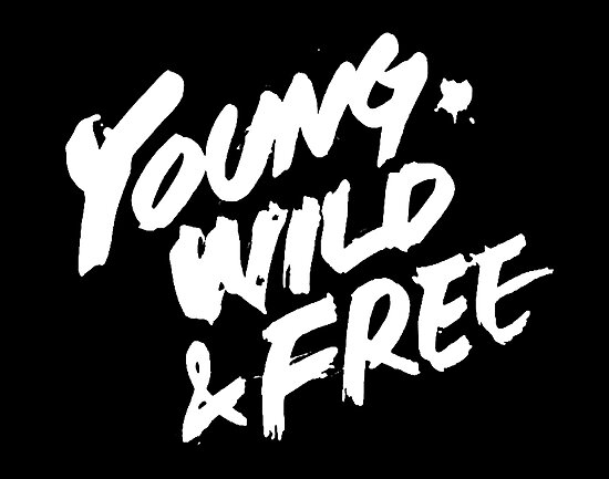 Bap Young Wild Free Logo Photographic Print By Angelialucis