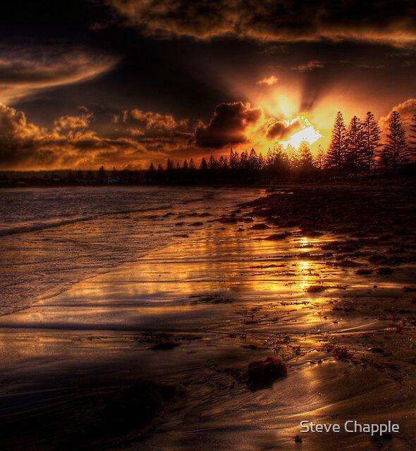 Esplanade sunset by Steve Chapple