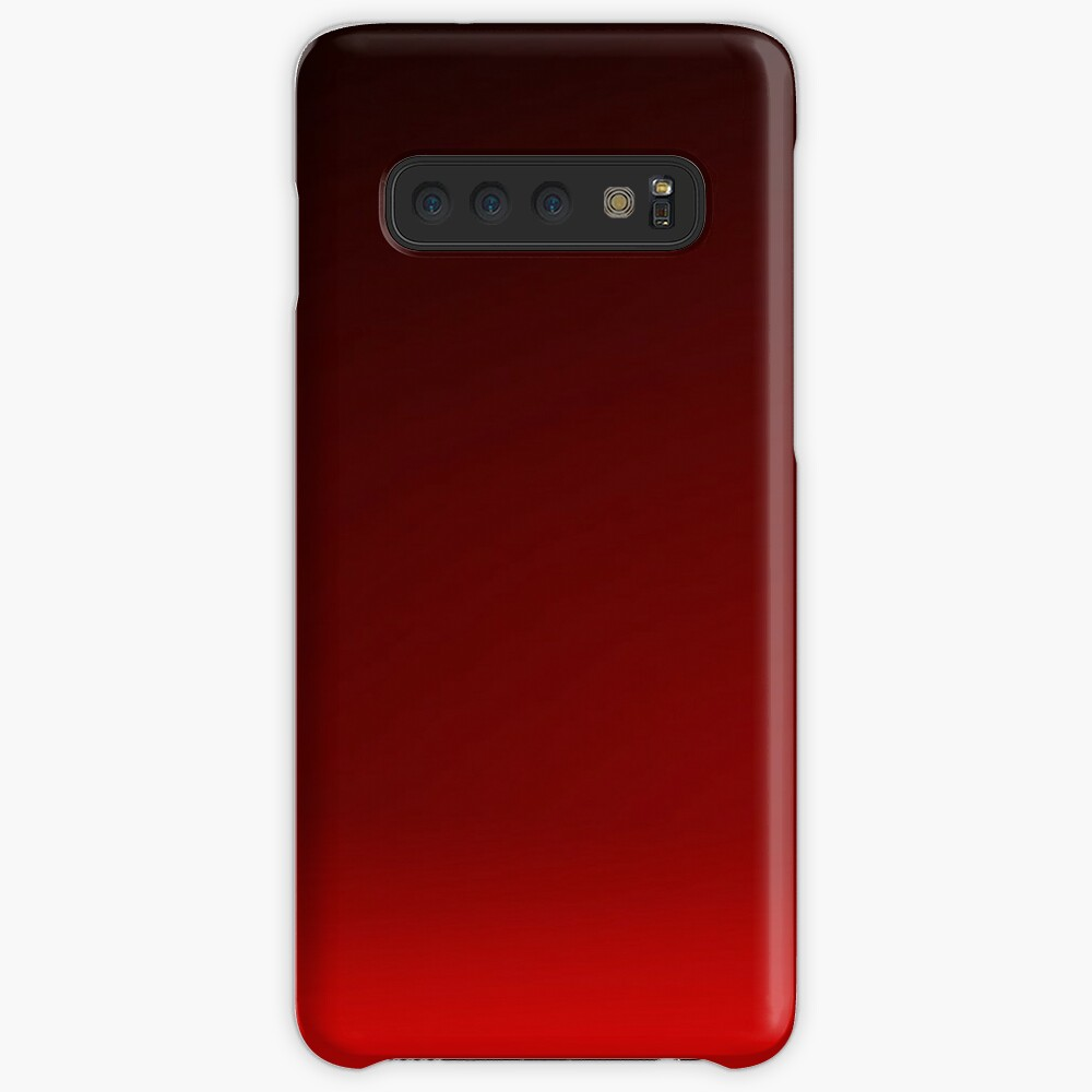 Red Ombre Case & Skin for Samsung Galaxy