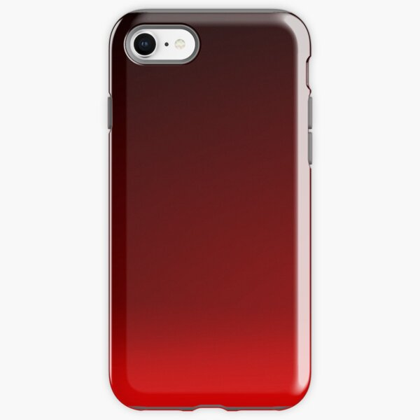 Red Ombre iPhone Tough Case