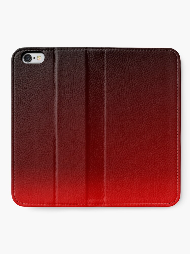 Alternate view of Red Ombre iPhone Wallet