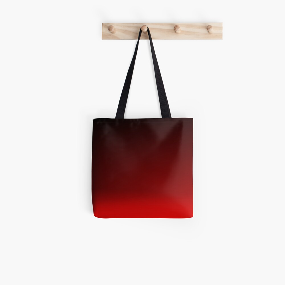 Red Ombre Tote Bag