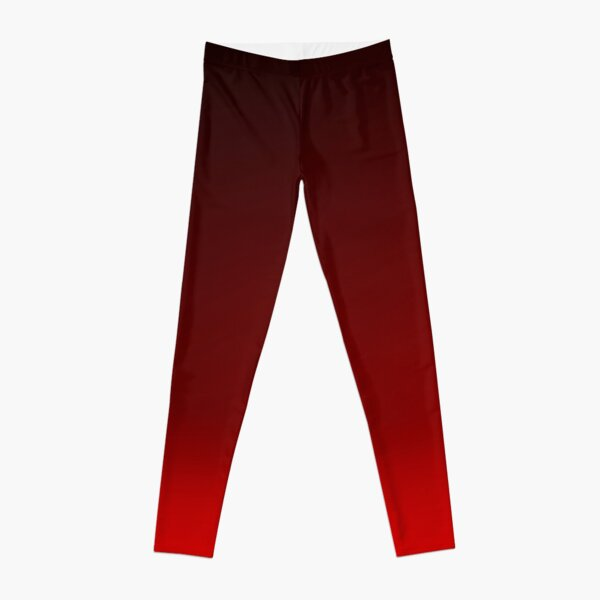 Red Ombre Leggings