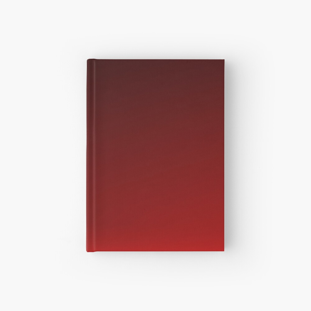 Red Ombre Hardcover Journal