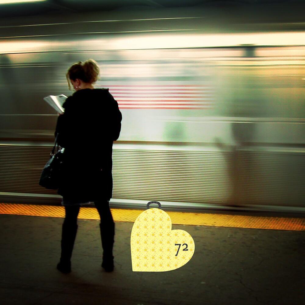 (72) On The Platform Reading by rillen