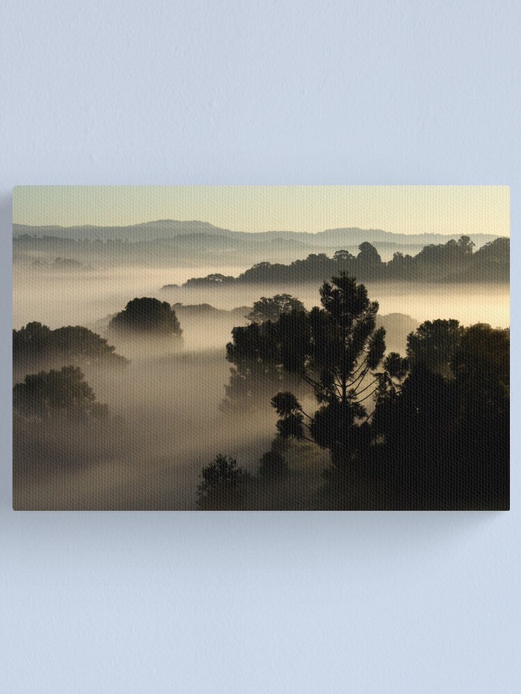Alternate view of Misty Morning Canvas Print