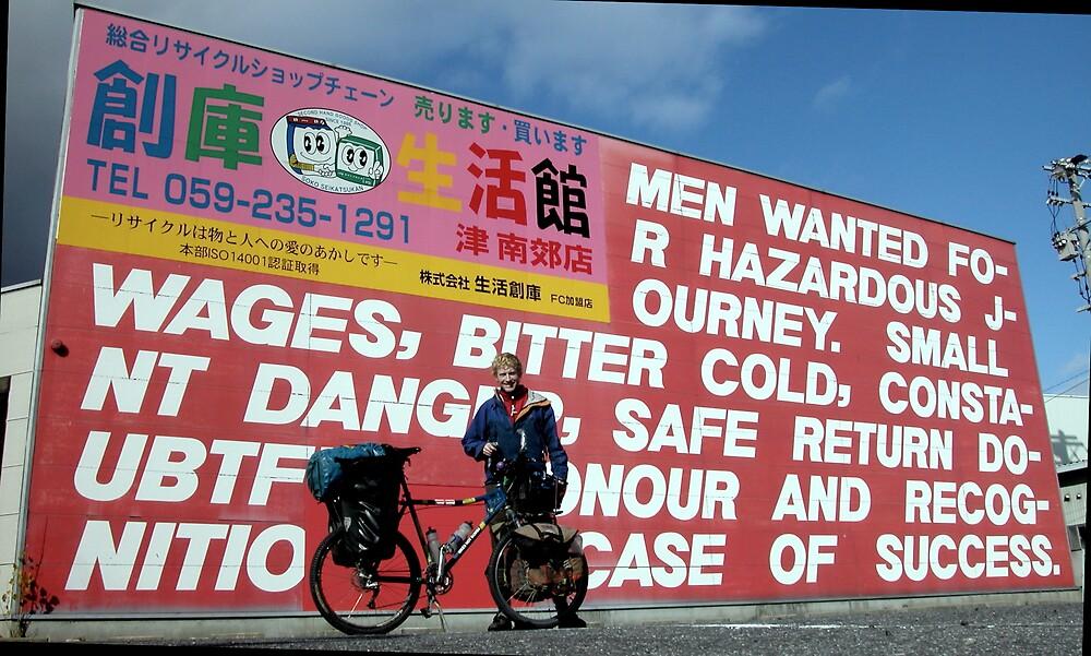 Men wanted for hazardous journey by Alastair Humphreys