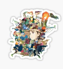 Howl's Castle Sticker