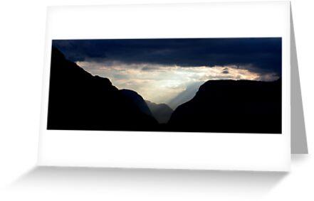 Italian sunset by Alastair Humphreys