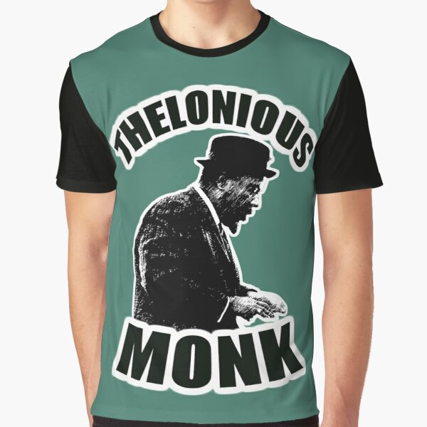 HD Thelonious Monk - High Priest of Bebop HIGH DEFINITION Graphic T-Shirt
