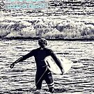 Laguna Beach Surfer by K D Graves Photography
