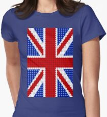 The Union Flag (Great Britain) Collection By Mikesbliss Women's Fitted T-Shirt