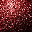 Beautiful Glamour Red Glitter sparkles by PLdesign