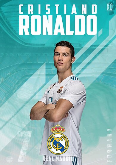 Quot Cristiano Ronaldo Real Madrid 2017 18 Quot Poster By Kias93