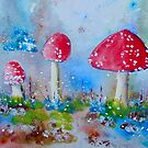 Toadstools by FrancesArt