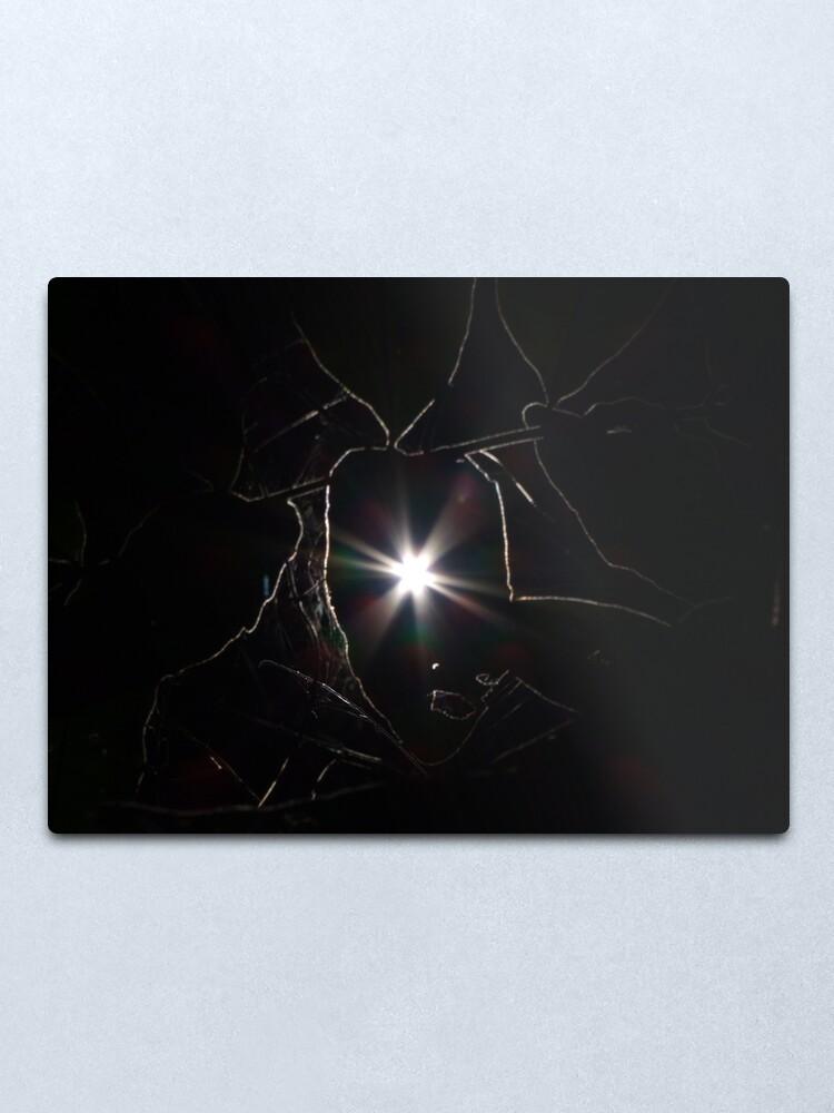 Alternate view of Sunlines Metal Print