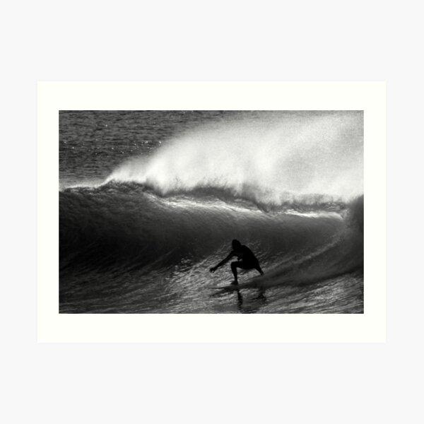 Dawn Surfer Art Print