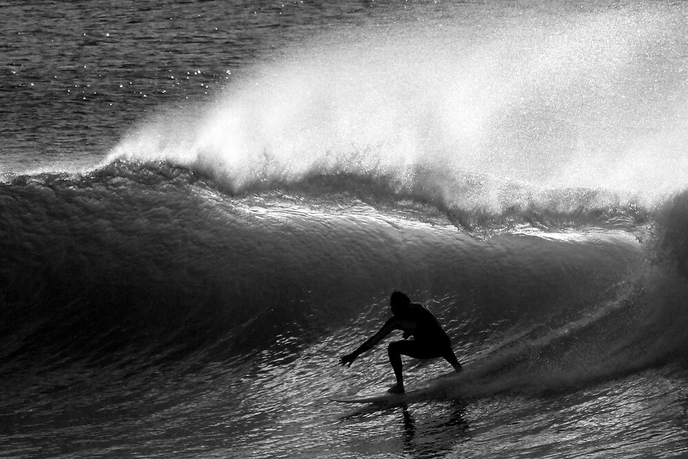 Dawn Surfer by Trevor Farrell
