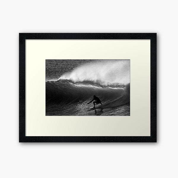 Dawn Surfer Framed Art Print