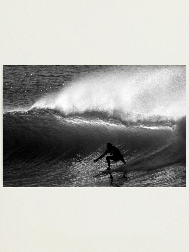 Alternate view of Dawn Surfer Photographic Print