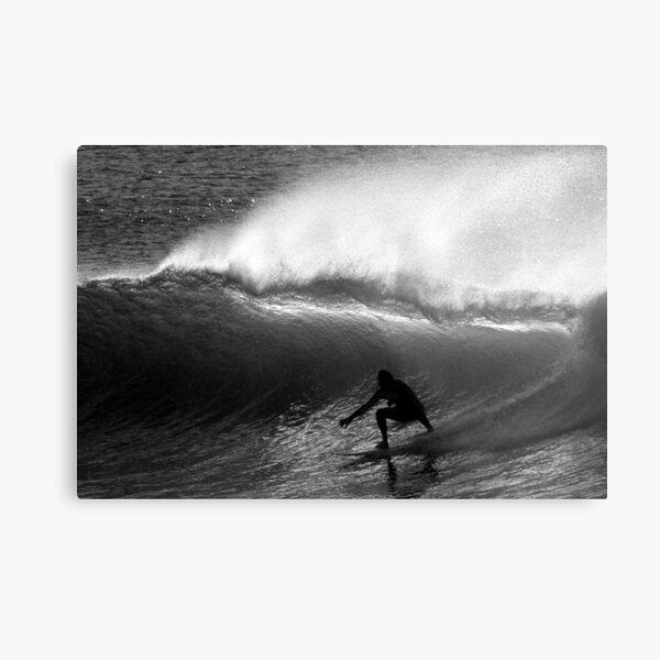 Dawn Surfer Metal Print