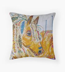 Wind Dancer Throw Pillow