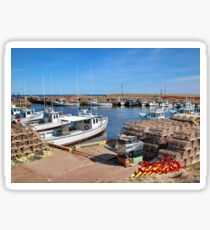 Harbour - Oyster Catchers - Nova Scotia Canada Sticker
