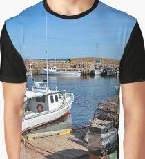Harbour - Oyster Catchers - Nova Scotia Canada Graphic T-Shirt