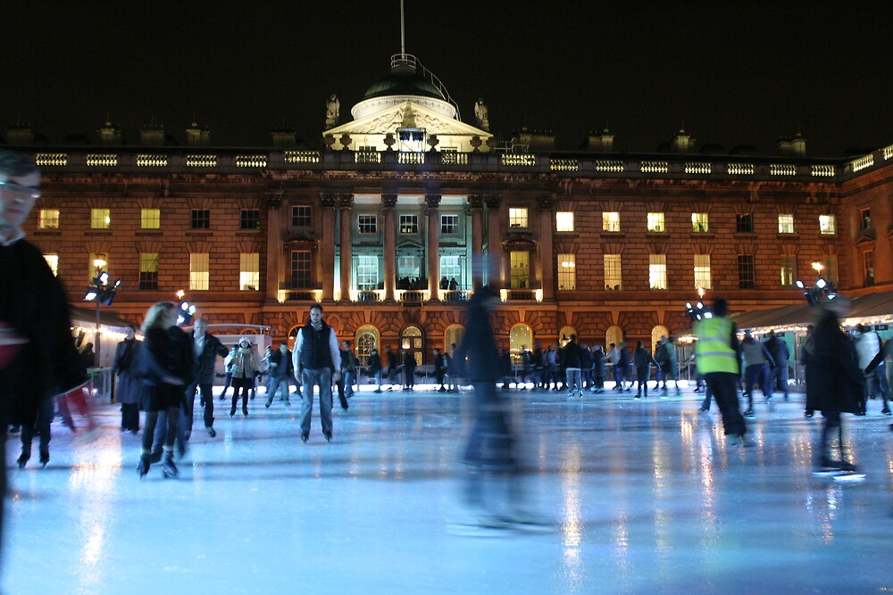 Ice skating by Alastair Humphreys