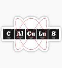 Chemistry - Periodic Table Elements: CAlCuLuS Sticker